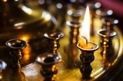 Stand for candles Stock Image