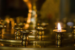 Stand for candles Stock Photography