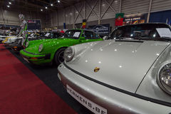 The stand of Center sports cars Hermens, Belgium. Royalty Free Stock Photos