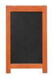 Stand chalkboard cutout Royalty Free Stock Photo