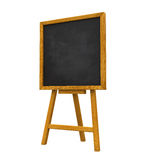 Stand Chalkboard. Isolated on white background. 3D render Stock Images