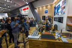 Stand of company Bosch. Stock Image