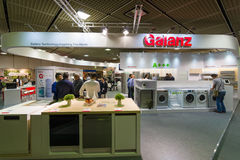 Stand of company Galanz. Stock Images