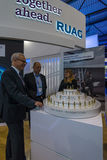 The stand the company RUAG Ammotec Stock Photography
