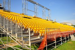 Stand Construction at Padang, Singapore 4 Royalty Free Stock Photography