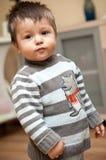 Stand de bébé photo libre de droits