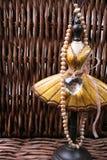 Stand de bijou avec des perles Image stock