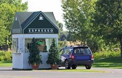 Stand de café express Photographie stock