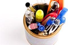 stand de crayons lecteurs Photographie stock libre de droits