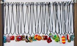 Stand de Jewelery Photographie stock libre de droits