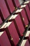 Stand de livre de bible dans l'église Photo libre de droits