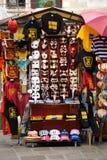 Stand de marchand ambulant à Venise Images libres de droits