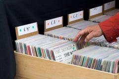 Stand de musique Image stock