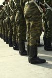 Stand de troupes Images stock