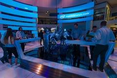 Stand der Firma Intel Lizenzfreie Stockfotografie