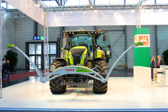 The stand of Farming 4.0 on March 20, 2015 Stock Image