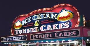 stand för cakeskarnevaltratt Royaltyfri Foto