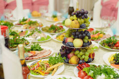 Stand with Fruits Royalty Free Stock Images