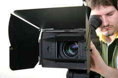 Stand HD-camcorder Stock Images