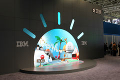 The stand of IBM Stock Images