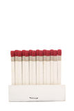 Stand Matchbook. Photo of Stand Matchbook on white background Stock Images