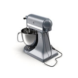 Stand Mixer on White Background Royalty Free Stock Images