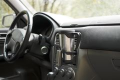 Stand for mugs in car Stock Image