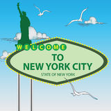 Stand New York City Royalty Free Stock Photo