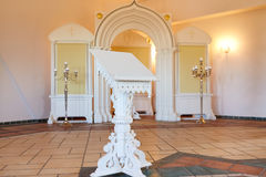 Stand at orthodox church Stock Images