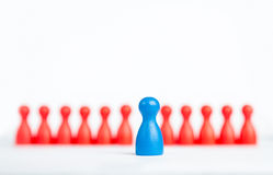 Stand out and be unique - leadership business concept with game Stock Photos