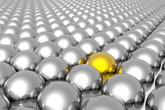 Stand out from the crowd Royalty Free Stock Images