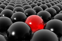 Stand out from crowd Stock Images