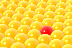 Stand out from crowd Royalty Free Stock Photography