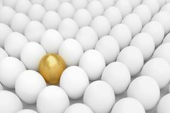 Stand Out From the crowd,3d rendering. Stand Out From the crowd, 3d rendering Stock Image