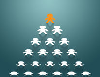 Stand out from the crowd Royalty Free Stock Photos