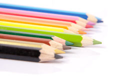 Stand Out from the crowd. Pencils ilustration for Stand Out from the crowd Stock Photography