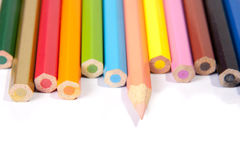 Stand Out from the crowd. Pencils ilustration for Stand Out from the crowd and be different Royalty Free Stock Image