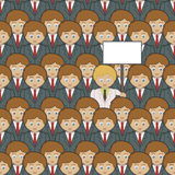 Stand Out From The Crowd Royalty Free Stock Photo