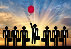 Free Stand Out From The Crowd Concept Royalty Free Stock Image - 94625206