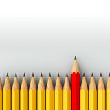 Stand out - pencils Royalty Free Stock Photo