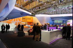 The stand of Software AG Stock Photography