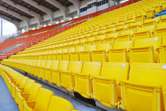 Stand in stadium Royalty Free Stock Images