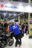 Stand of Suzuki Royalty Free Stock Photo