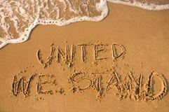 stand uni Images libres de droits