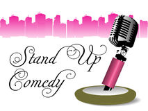 Stand up comedy Stock Images