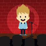 Stand up comedy Stock Photo