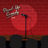 Stand up comedy Royalty Free Stock Photography