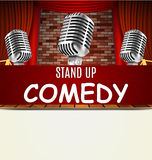 Stand Up Comedy Show Royalty Free Stock Photography