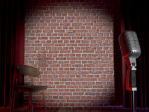 Free Stand-up Comedy Stage Royalty Free Stock Images - 67866739