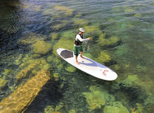 Stand Up Paddle Board Explorer Stock Photography